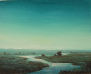Mourning Creek - Asha Murthy MacDonald  Landscape Artist
